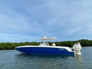 Used Carrera Boats 36 cuddy Center Console Fishing Boat For Sale