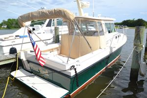 Used Albin 28 Flush Deck Tournament Express Downeast Fishing Boat For Sale