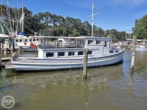 Used Covacevich Biloxi Lugger 38 Antique and Classic Boat For Sale