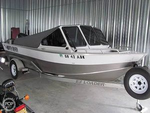 Used North River 18 Aluminum Fishing Boat For Sale