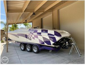 Used Magic 34 Sorcerer High Performance Boat For Sale