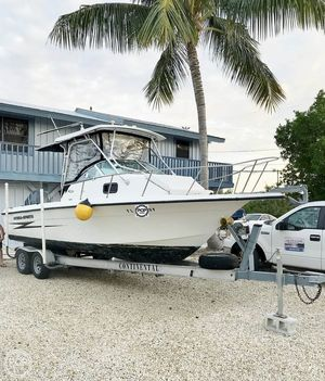 Used Hydra-Sports Seahorse 230 Walkaround Fishing Boat For Sale