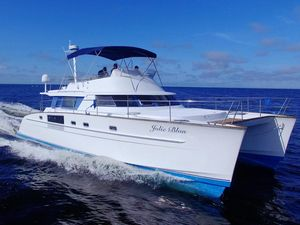 Used Fountaine Pajot 44 Cumberland Power Catamaran Boat For Sale
