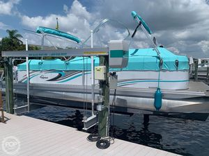 Used Quest 822 Pontoon Boat For Sale