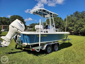 Used Sea Pro 228 DLX BAY Boat For Sale