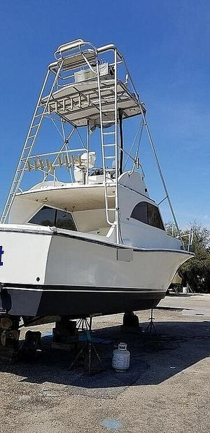 Used Alglas 33 Sports Fishing Boat For Sale