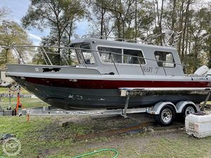Used Harbercraft King Fisher 2525 Pilothouse Boat For Sale