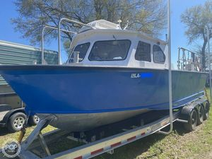 Used Lafco 29 Aluminum Crew Boat For Sale