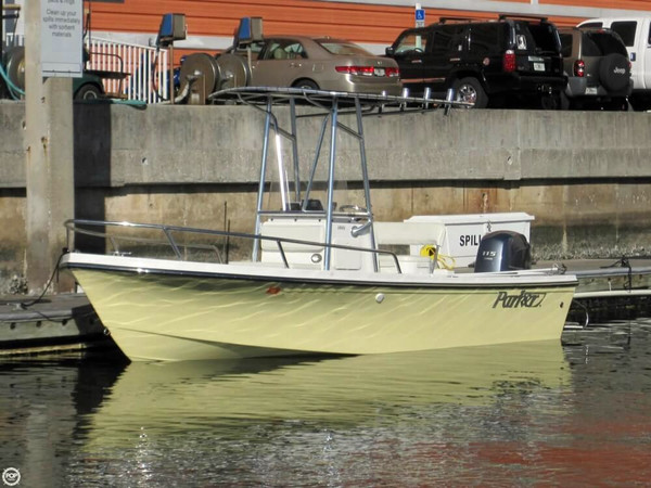 Used Parker Marine 1801 Center Console Fishing Boat For Sale