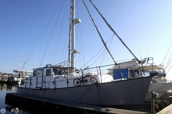 Used Walker 38 Trawler Boat For Sale