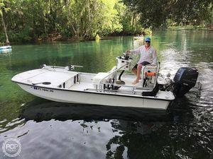 Used Custom Built 18 Flatwater Skiff Fishing Boat For Sale