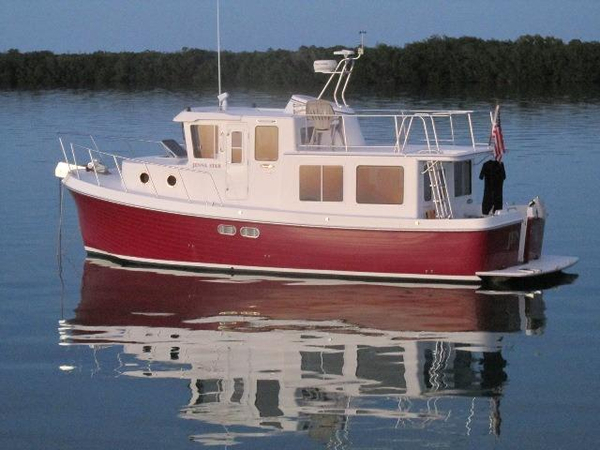 Used American Tug Raised Pilothouse Trawler Tug Boat For Sale