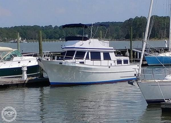Used Ct Yachts 35 Trawler Boat For Sale