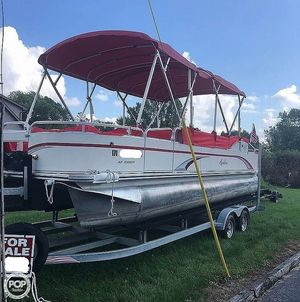 Used Avalon AF 2480 FF Pontoon Boat For Sale