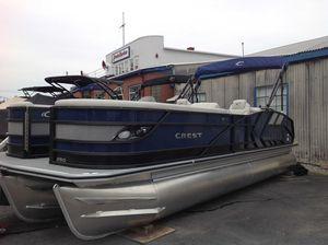 New Crest CARIBBEAN LX250 SLC Pontoon Boat For Sale