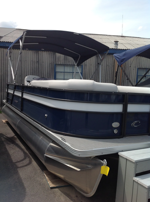 New Crest I 220slrd Pontoon Boat For Sale