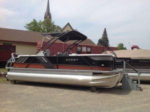 New Crest CALIBER 230SLC Pontoon Boat For Sale