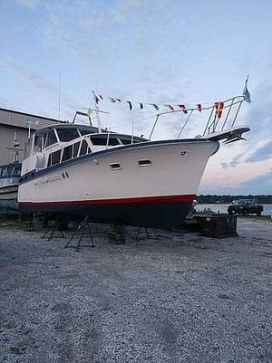 Used Hatteras 41 Aft Cabin Boat For Sale