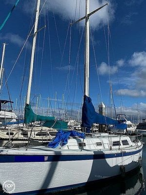 Used Cal 34 Sloop Sailboat For Sale