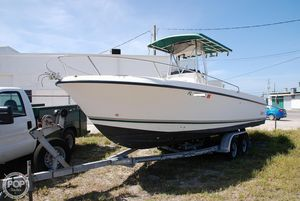 Used Shamrock 246 Open Fish Center Console Fishing Boat For Sale