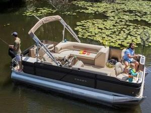 New Crest Classic Fish 200 SF Pontoon Boat For Sale