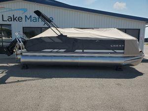 New Crest Caribbean LX 230 SLS Pontoon Boat For Sale