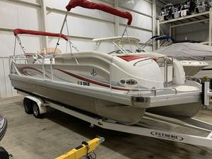 Used Jc 266 CLASSIC I/O Pontoon Boat For Sale