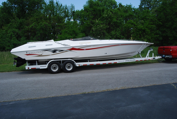 Used Fountain 35 Executioner Cruiser Boat For Sale
