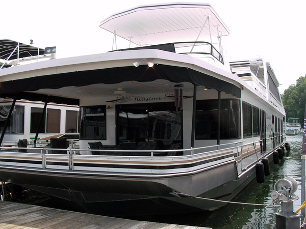 Used Stardust Cruisers 18 X 95 Houseboat House Boat For Sale