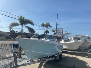 New Cobia 220 DC Dual Console Boat For Sale