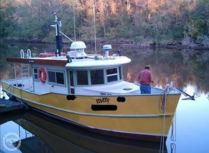Used Pleasure Craft 40 Trawler Boat For Sale