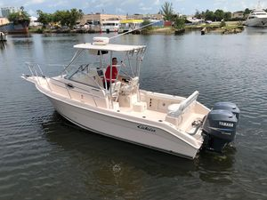 Used Cobia 250 Walk-Around Walkaround Fishing Boat For Sale