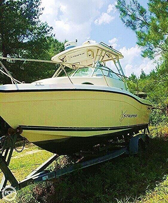 Used Seaswirl 2100 Walkaround Fishing Boat For Sale