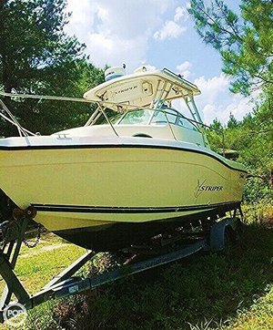 Used Seaswirl 2100 Walkaround Fishing Boat For Sale
