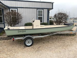 Used Santee 160CC Center Console Fishing Boat For Sale