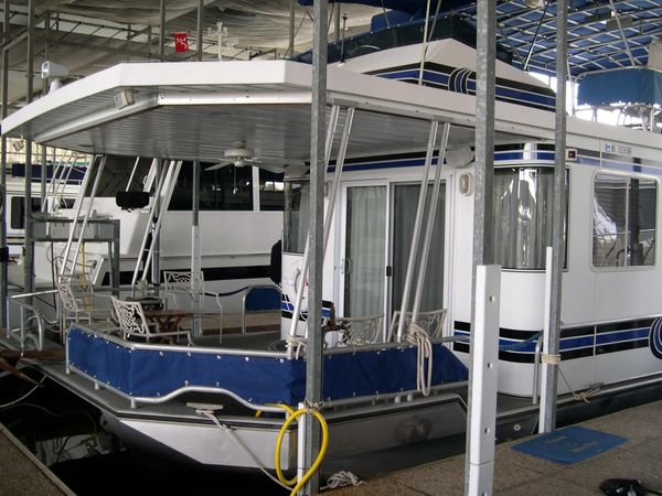 Used Lakeview 52x16 Custom House Boat For Sale