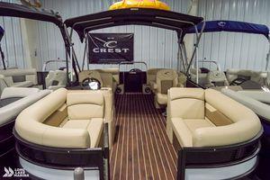 New Crest Classic LX 220 SLC Pontoon Boat For Sale