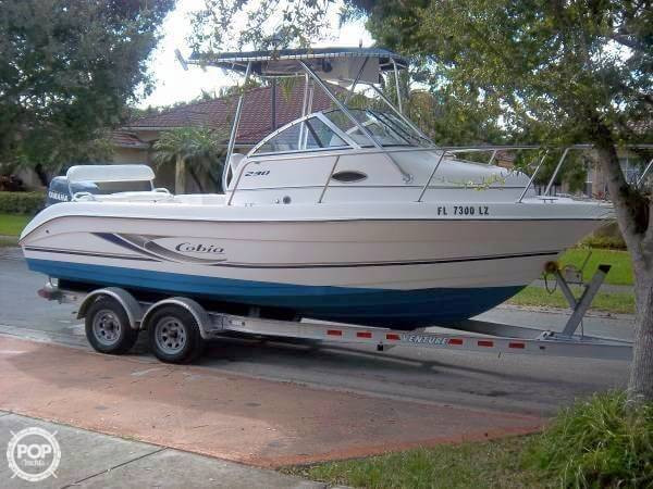 Used Cobia 230 Walkaround Fishing Boat For Sale
