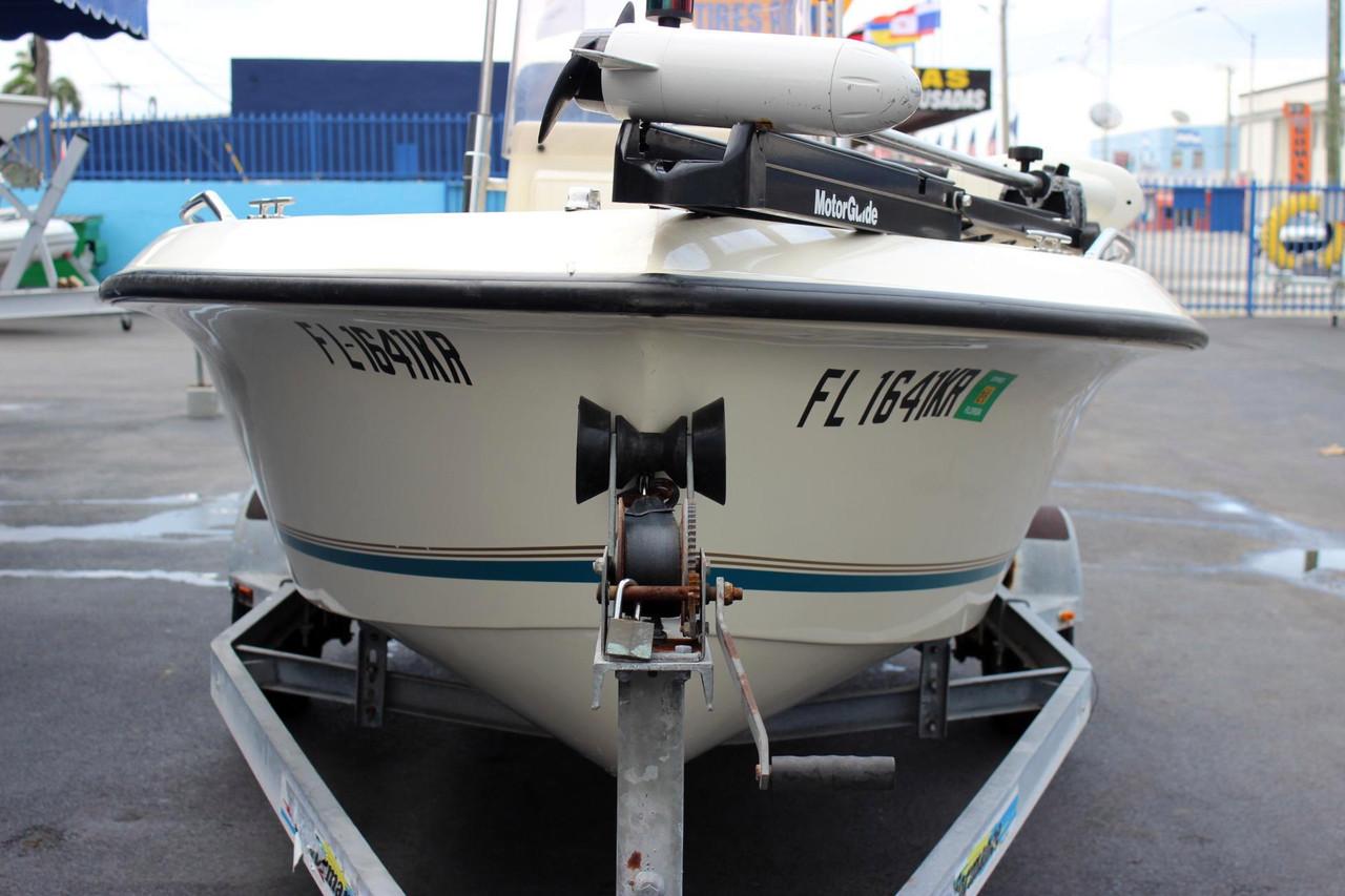 1999 used sea pro 170 center console center console for Sea fishing boats