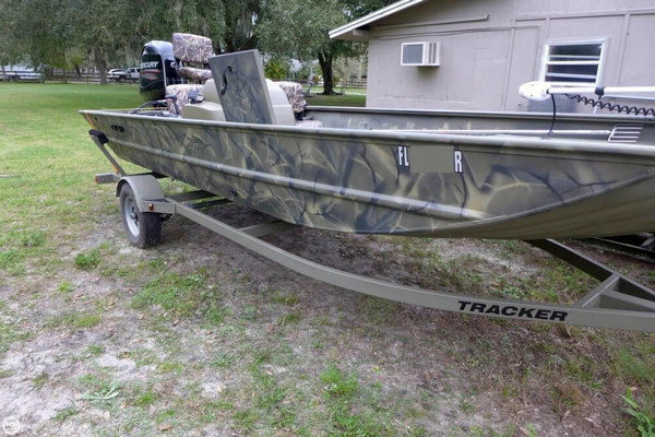 2014 used tracker grizzly 1860 aluminum fishing boat for for Used fishing boats for sale in florida