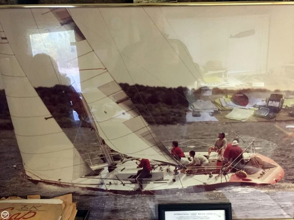Used Bruce Kirby 40' IOR Racing Sloop Racer and Cruiser Sailboat For Sale