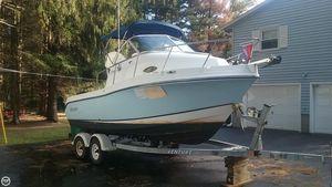 Used Polar 2100 WA Walkaround Fishing Boat For Sale