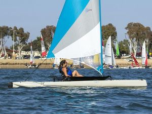 New Hobie Mirage Adventure Island Multi-Hull Sailboat For Sale