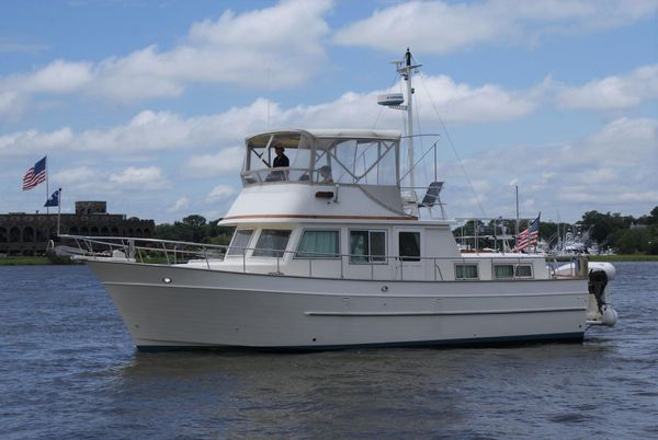 Used Mariner Orient 38 Trawler Boat For Sale