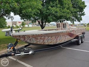 Used Miracle Marine River Jet Ranger Recon Aluminum Fishing Boat For Sale