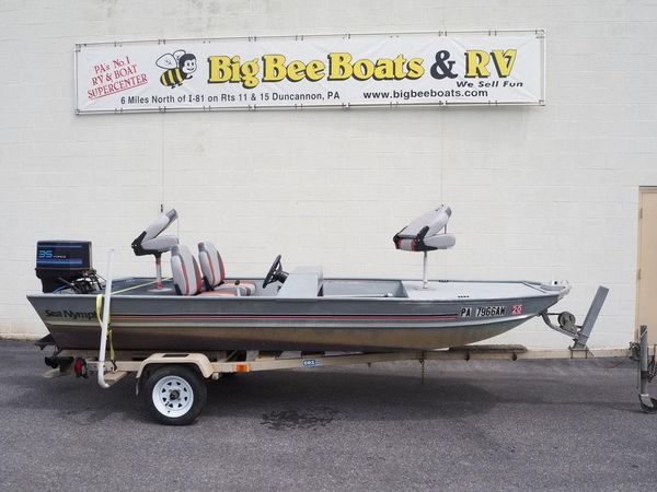 Used Sea Nymph Bass Boat For Sale