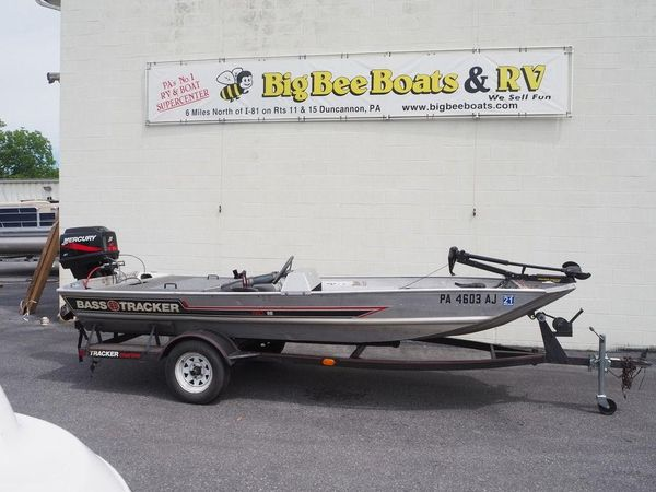 Used Tracker Pro 160 Bass Boat For Sale