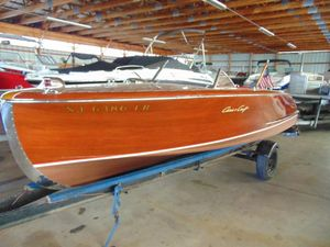 Used Chris-Craft 20 Custom Runabout Cruiser Boat For Sale
