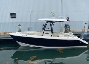 Used Cobia 237 Center Console Fishing Boat For Sale