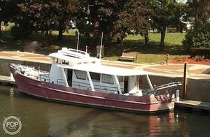 Used Custom Built Blount 60 Converted Research Vessel Antique and Classic Boat For Sale